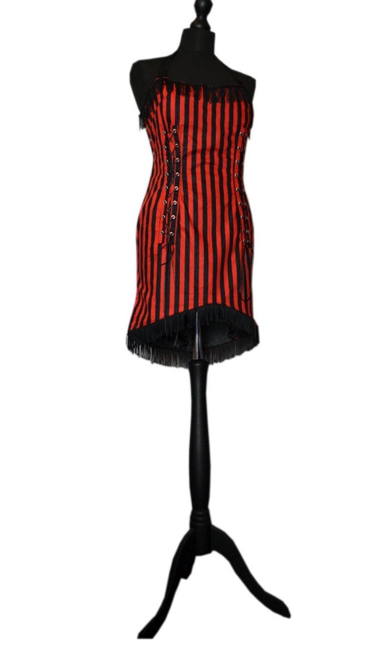 Goth *Thriller Killer* Burlesque Carnival Dress FREE DELIVERY!
