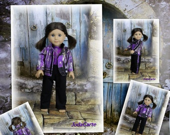 """Track Suit for AG Doll (18"""" doll)"""