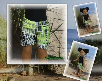 WW Doll -- Loose-Fitting Shorts/Swimming Trunks