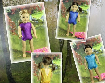 American Girl Leotard -- Choose from Various Color Options