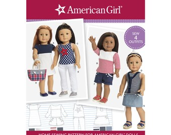 """Simplicity Pattern 8397 18"""" Doll Clothes"""