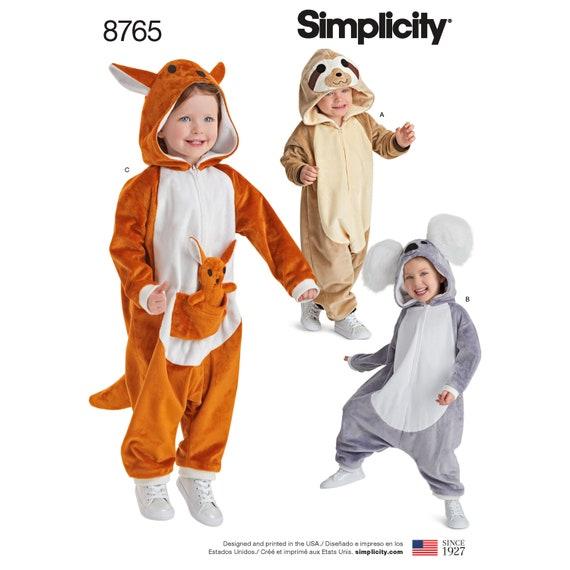Einfachheit Nähen Muster 8765 Kleinkinder Kostüme | Etsy