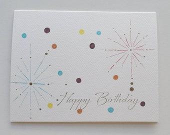 Sparkler Birthday Cards