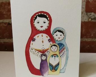 Matrioshka Cards