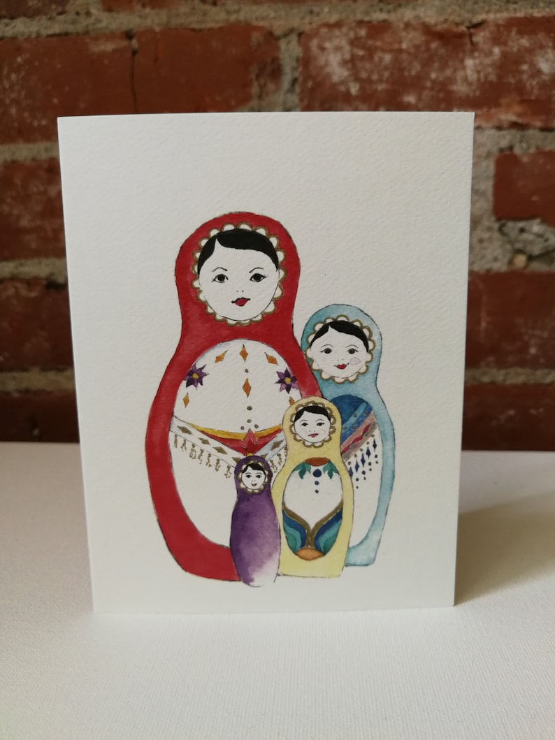 Matrioshka Cards image 0