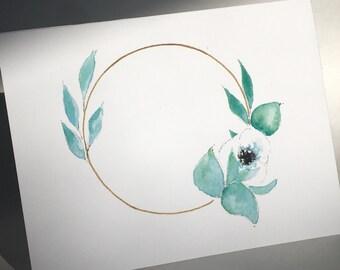 Spring Florals - Blank Cards