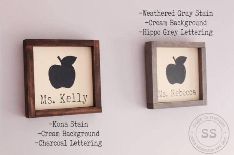 Personalized Teacher/'s Desk Name Sign-Teacher/'s Gift-Teacher/'s Name Gift-Design your own Personalized Teacher/'s gift-walldeskdecor8.75x8.75
