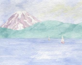 Puget Sound Card 2 (Horizontal)