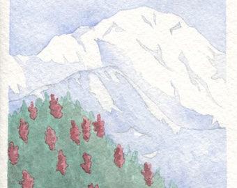 Mt Denali Card