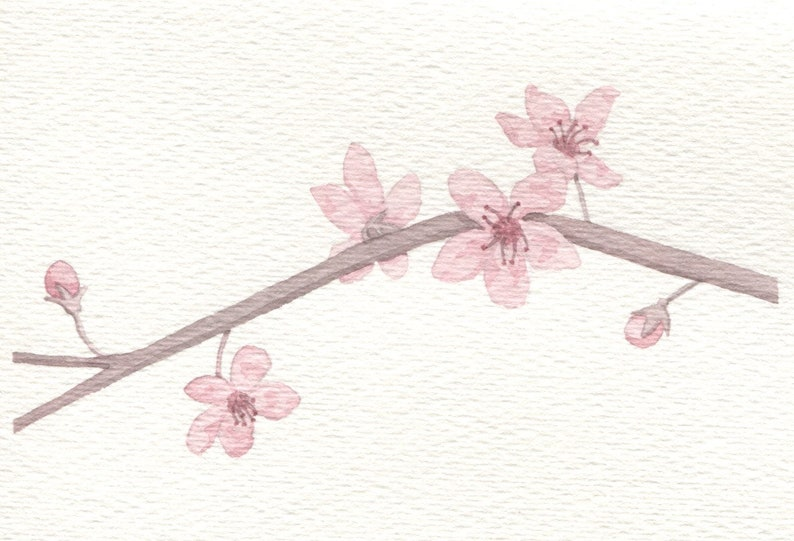 Cherry Blossom Card image 0