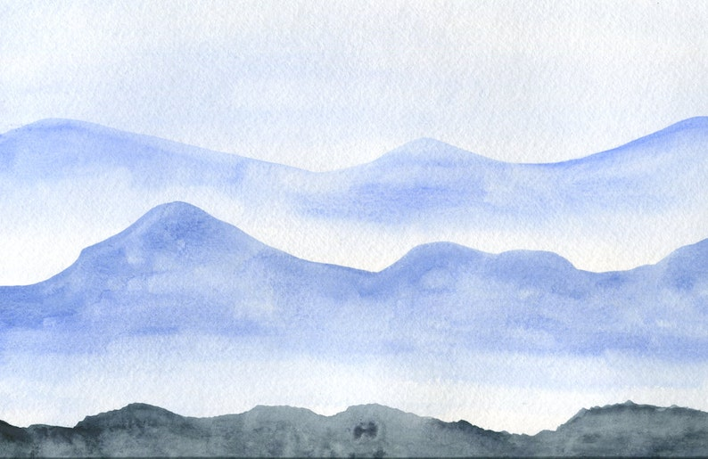 Great Smoky Mountains Painting image 0