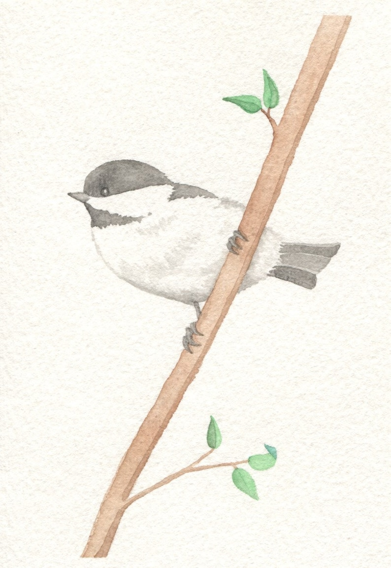 Summer Chickadee Card image 0