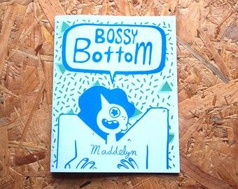 Bossy bas - une queer dessinée par Maddelyn