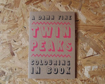 A Damn Fine Twin Peaks Colouring-In Book