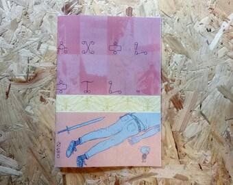 Axolotl #3 par Jack Farah - page 30 BD du malheur et l'anxiété!
