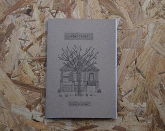 Abandoned - an illustration zine of abandoned houses