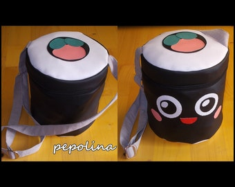 Super Tasty Adorable and Funny Japanese Anime Kawaii Sushi Food Bag for teens