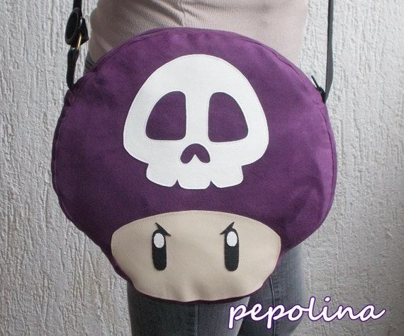 Poison Mushroom Bag Etsy