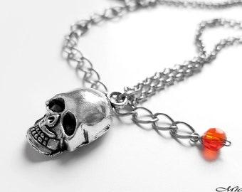 Persona 5 Ryuji Sakamoto Skull Phantom Thief Necklace