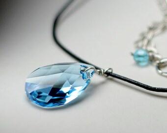 Sword Art Online Crystal Yui's Heart Necklace - Swarovski Crystal