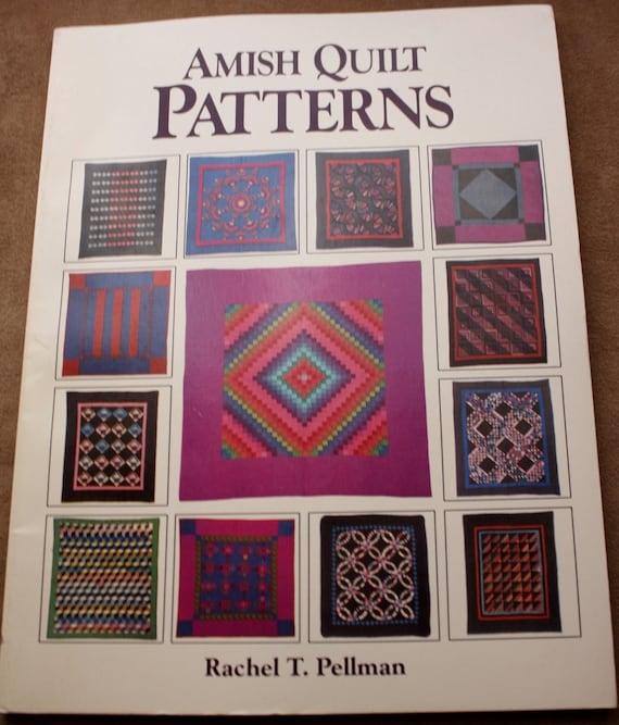 Kinder Quilt Patronen.Amish Quilt Patronen Door Rachel Pellman Softcover Goede Boeken