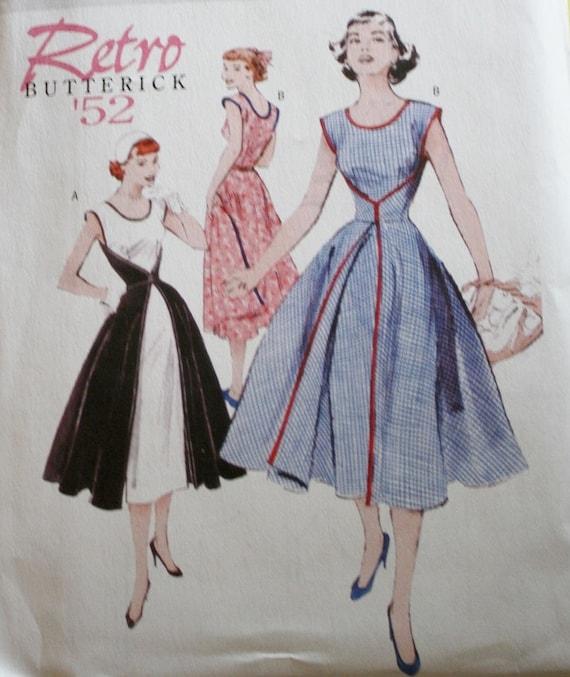 Butterick B4790 vorne hinten Wrap Kleid Schnittmuster | Etsy