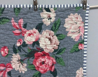 Outback Wife Floral Baby Quilt