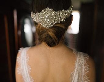 METHODY | Embroidered Crystal Headpiece