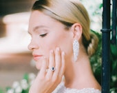 CARTER   Luxury diamond drop earrings