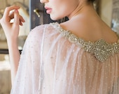 VERSAILLES | Crystal Lace Ombre Cape