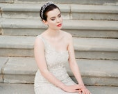 ROUSSEAU   Couture Crystal Gown