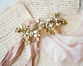TOUJOURS   Pearl Bridal Comb