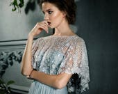 LUMIERE | Beaded Bridal Capelet