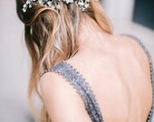 10 % off VOLTAIRE | Couture crystal wedding headpiece