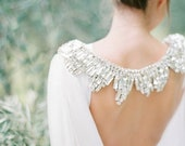 10 % off ORION | Couture modern silk bridal cape