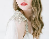 10 % off ANASTASIA | Shimmering haute couture silk &  crystal cape