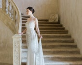 10 % off TRESOR | Couture crystal embroidered wedding train