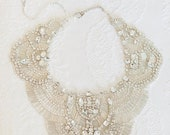 10 % off ASTAIRE | Couture crystal tulle necklace