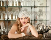 ZIEGFELD   Couture Gatsby headpiece
