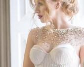 10 % off VIENNA | Gold constellation wedding cape