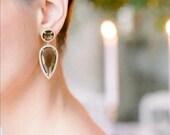10 % off ERIN | Black Diamond Drop Earrings
