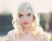10 % off LUJON | Couture crystal tulle headpiece