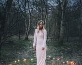 As seen in VOGUE -Meadow Bohemian Luxe Crochet Wedding dress