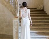 10 % off BOHEME | Pearlised bead bridal capelet
