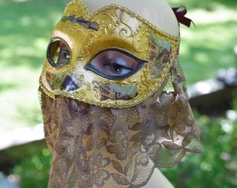 Venetian Mask,Veiled Mask,Original Mask