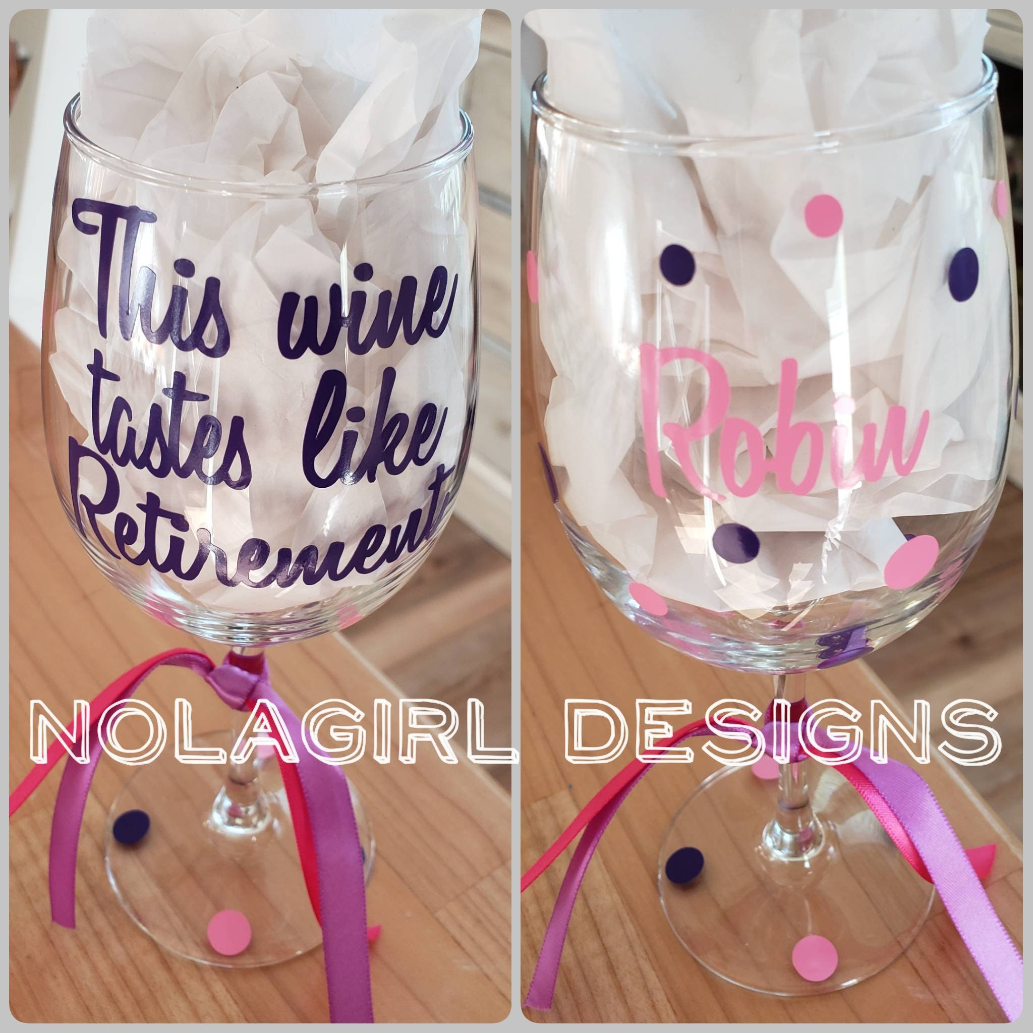 Retirement wine glass, retired wine glass, Funny wine quotes ...