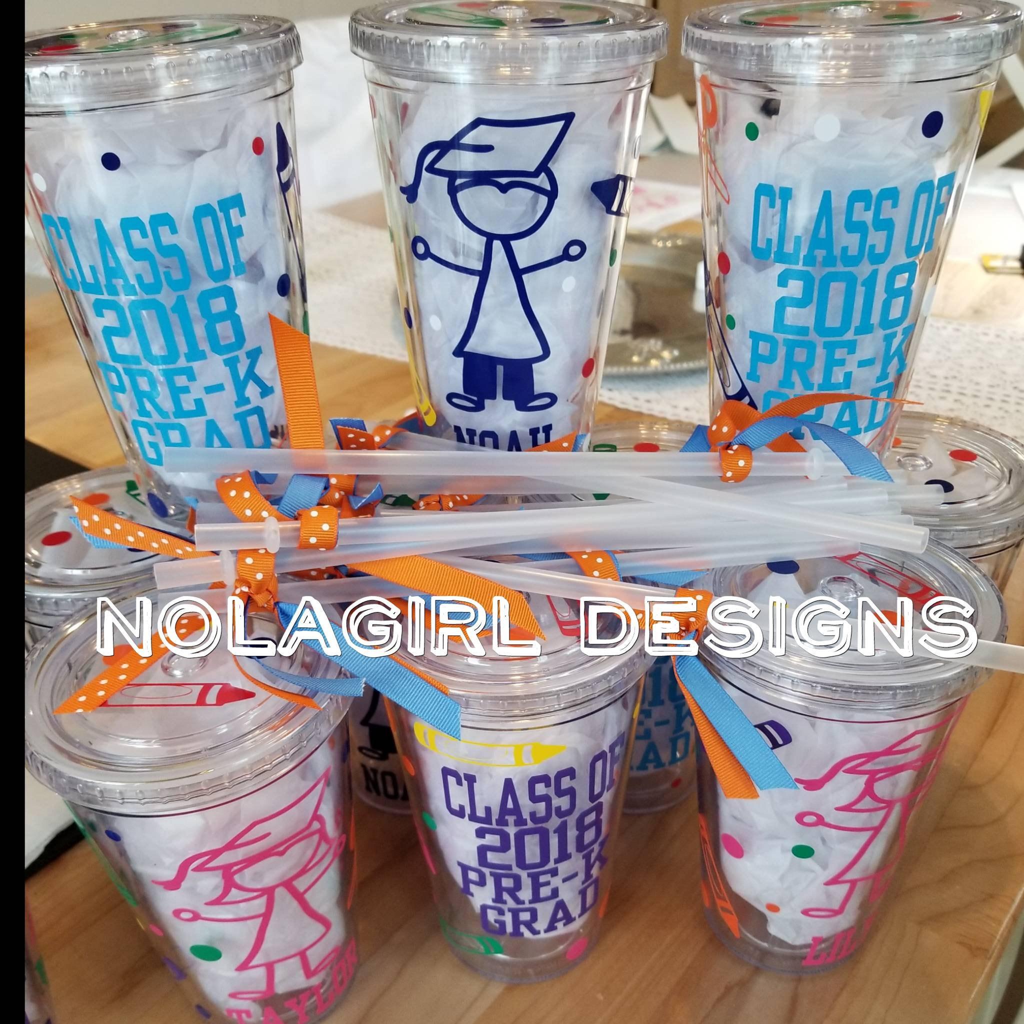 Kindergarten Graduation Gift Pre K Graduation Gift Drink