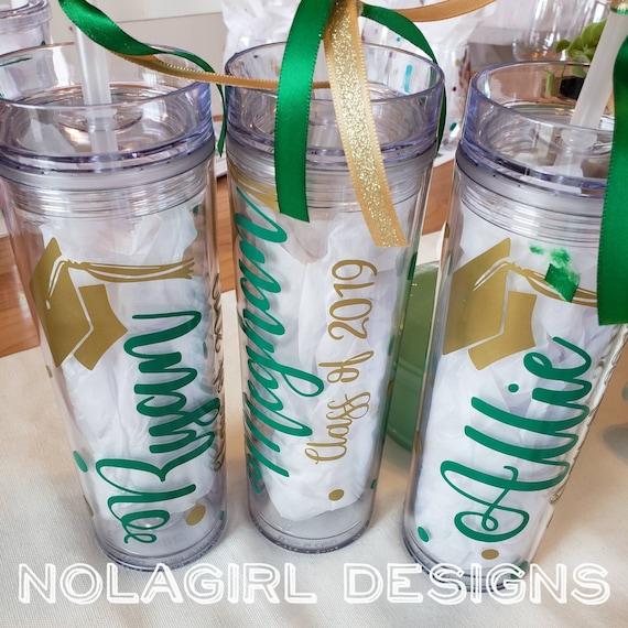 Graduation Gift, Personalized Tumbler, High School Grad Gift, Class of 2021, Drink Tumbler, College graduate gifts, Mascot fun, virtual grad