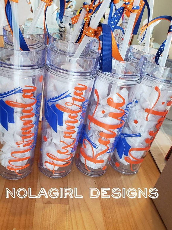 Class of  2021 Graduation Gift, Personalized Tumbler, High School Grad Gift, Drink Tumbler, College graduate gifts, virtual graduation gift