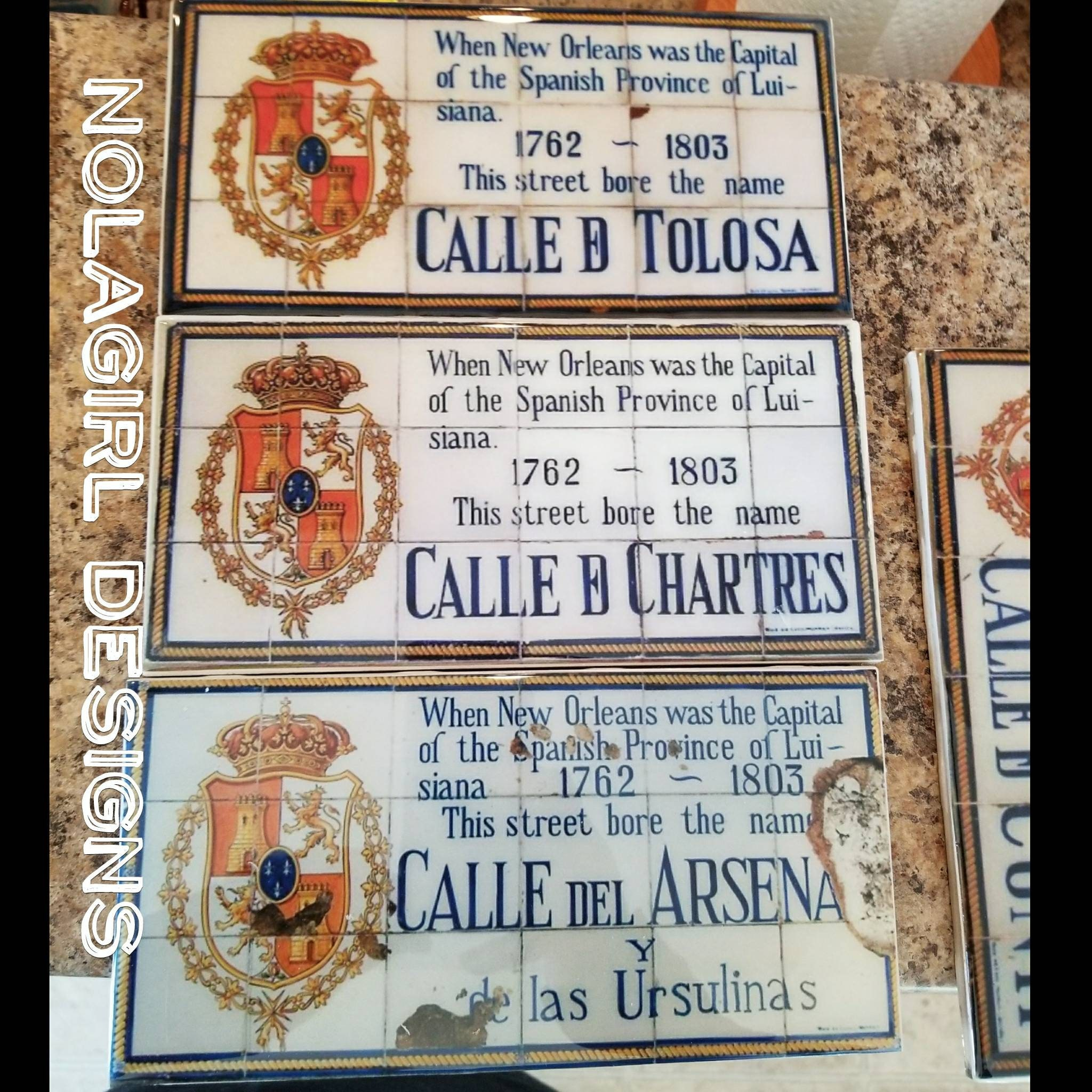 New Orleans Home Decor Stores: New Orleans Spanish Tile Replica, Home Decor, New Orleans